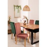 Pack de 2 cadeiras de jantar Cindy Velvet, imagem miniatura 1