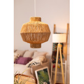 Candeeiro do teto de papel trançado Amaris, imagem miniatura 1