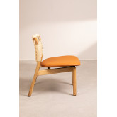 Cadeira de madeira roma, imagem miniatura 3