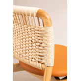 Cadeira de madeira roma, imagem miniatura 5