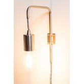 Lâmpada de parede alli metálico, imagem miniatura 3