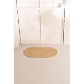 Capacho Oval de Juta Natural (73x46,5 cm) Nunca, imagem miniatura 2