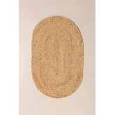 Capacho Oval de Juta Natural (73x46,5 cm) Nunca, imagem miniatura 3