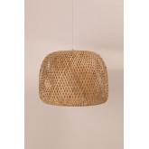 Candeeiro de teto de bambu (Ø45 cm) Debi, imagem miniatura 2