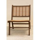 Cadeira de jardim em Ayat de vime sintético, imagem miniatura 3
