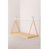 Cama de madeira para colchão Typi Kids 90 cm, imagem miniatura 2
