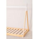 Cama de madeira para colchão Typi Kids 90 cm, imagem miniatura 4
