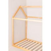 Cama de madeira para colchão de 90 cm obbit kids, imagem miniatura 3