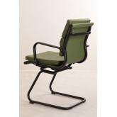 Cadeira de escritório com braços Mina Black , imagem miniatura 4