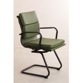 Cadeira de escritório com braços Mina Black , imagem miniatura 3