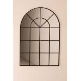 Espelho de parede em efeito de janela de metal (135x92 cm) Paola , imagem miniatura 3