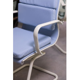 Cadeira de escritório com braços Mina Colors, imagem miniatura 3