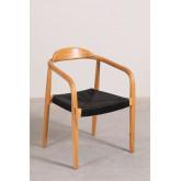 Yeff Paper Rope Dining Chair, imagem miniatura 2