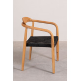 Yeff Paper Rope Dining Chair, imagem miniatura 3