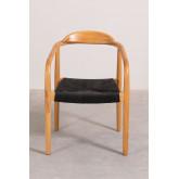 Yeff Paper Rope Dining Chair, imagem miniatura 4