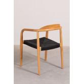 Yeff Paper Rope Dining Chair, imagem miniatura 5