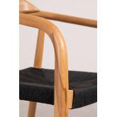 Yeff Paper Rope Dining Chair, imagem miniatura 6