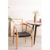 Yeff Paper Rope Dining Chair, imagem miniatura 1