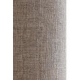 Candeeiro de mesa em linho e madeira Olga, imagem miniatura 4