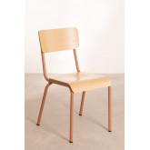 Cadeira em MDF e Aço Shatys, imagem miniatura 2