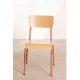 Cadeira em MDF e Aço Shatys, imagem miniatura 3