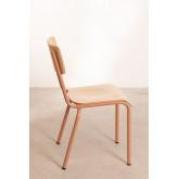 Cadeira em MDF e Aço Shatys, imagem miniatura 4