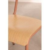 Cadeira em MDF e Aço Shatys, imagem miniatura 6