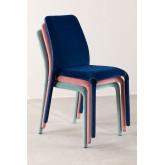 Cadeira de jantar Trass Velvet, imagem miniatura 6