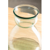 Frasco de vidro reciclado transparente Madox, imagem miniatura 4