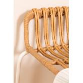 Tamborete alto de vime sintético Aroa, imagem miniatura 6