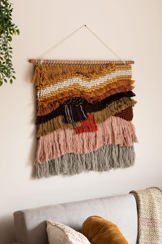 Tapeçaria mural de lã e juta de Eivissa, imagem de galeria 1