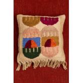 Capa de almofada de algodão e juta (50x50 cm) Tauja, imagem miniatura 2