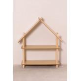 Prateleira infantil Zita com 2 prateleiras de madeira, imagem miniatura 3