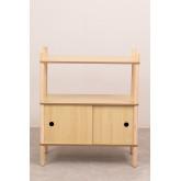 Tulia Kids Wood Shelf com armazenamento e prateleira, imagem miniatura 3