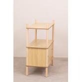 Tulia Kids Wood Shelf com armazenamento e prateleira, imagem miniatura 4