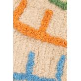 Tapete redondo de algodão (Ø104 cm) com letras infantil, imagem miniatura 3