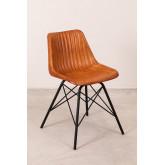 Cadeira de couro kubyh, imagem miniatura 2