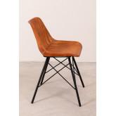 Cadeira de couro kubyh, imagem miniatura 3