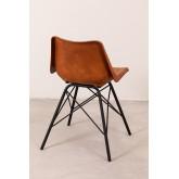 Cadeira de couro kubyh, imagem miniatura 4