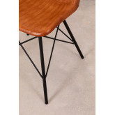 Cadeira de couro kubyh, imagem miniatura 6