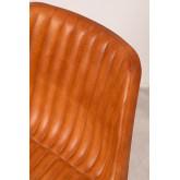 Cadeira de couro kubyh, imagem miniatura 5