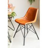 Cadeira de couro kubyh, imagem miniatura 1