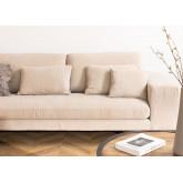 Sofá Chaise Longue de 4 lugares em Chenille Agon, imagem miniatura 2