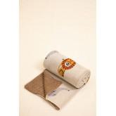 Dyano manta de algodão infantil, imagem miniatura 3