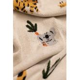 Dyano manta de algodão infantil, imagem miniatura 4