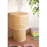 Candeeiro de mesa Siro Rattan, imagem miniatura 1