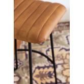 Banquinho alto em couro Copi, imagem miniatura 5