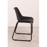 Cadeira de jantar de couro Zekal, imagem miniatura 4