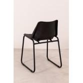 Cadeira de jantar de couro Zekal, imagem miniatura 5