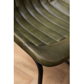 Cadeira de jantar de couro Kindia, imagem miniatura 6